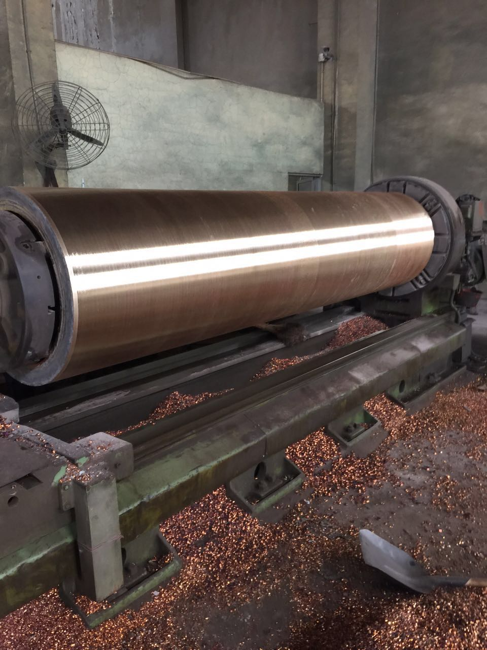 100,000 tons ship copper sleeve