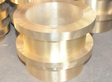 Flange copper sleeve